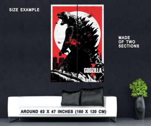 72455 GODZILLA Movie 2014 Gojira Decor Wall Print POSTER