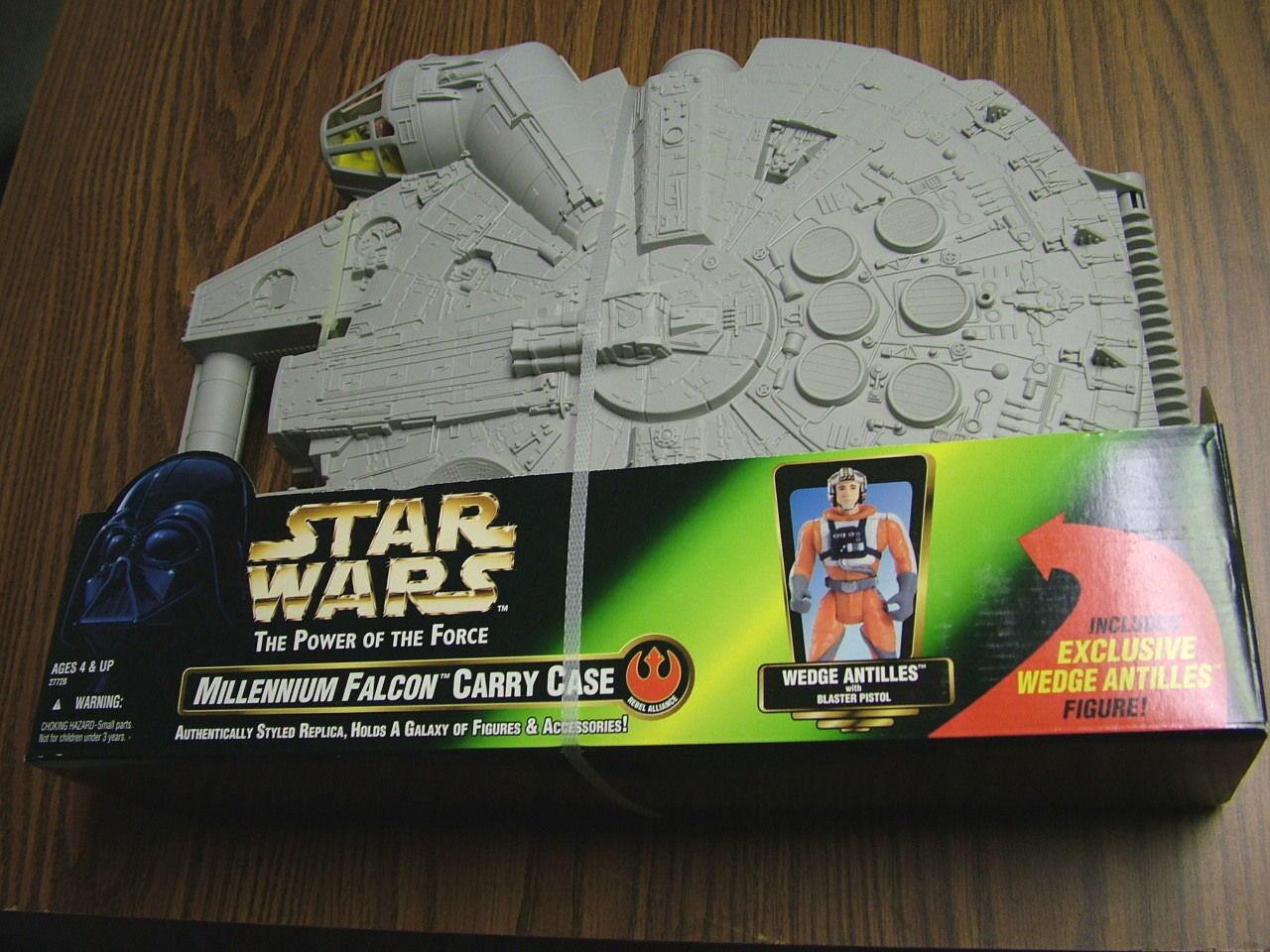 Star wars  millennium - falken transportbox w   keil antillen abb. i - 1997
