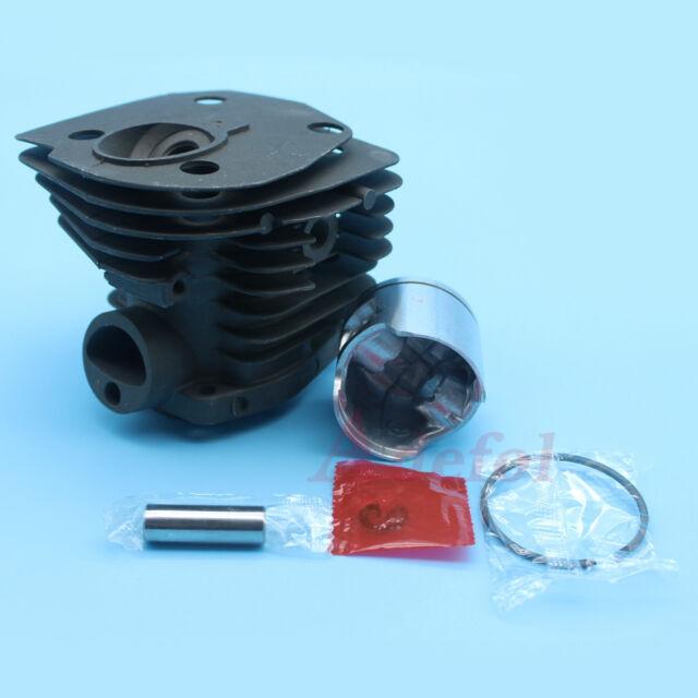 Nikasil Plate 44mm Cylinder Piston Kit for Husqvarna 346 XP 350 351 353 Chainsaw