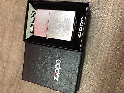 ZSH012R Authentic Zippo Lighter No Inside Guts Insert