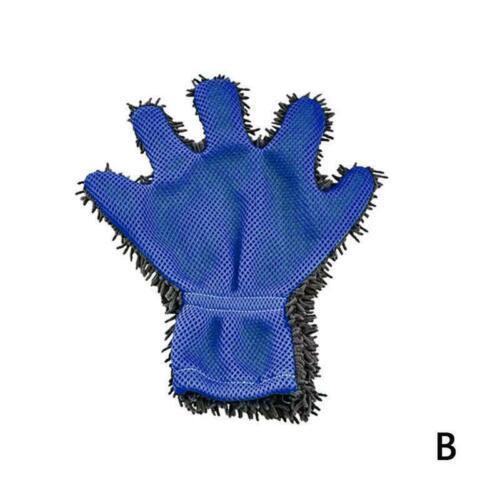 Duster Cloth Window Autowaschhandschuh Chenille Home Cleaning Glove Heiß Fi D8B5