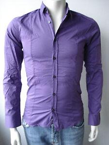 David-Mayer-Naman-Herren-Hemd-Camicia-Shirt-Neu-S