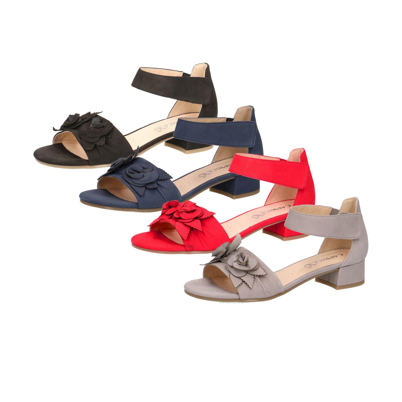 Damen Sandalen geschlossene Ferse Sandaletten Caprice 9
