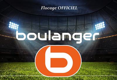 France flocage Boulanger officiel monblason maillot extérieur OM 2018//2019