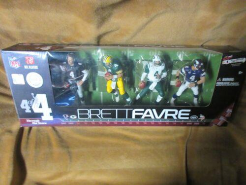 2010 McFarlane Brett Favre à travers les années 4 de 4