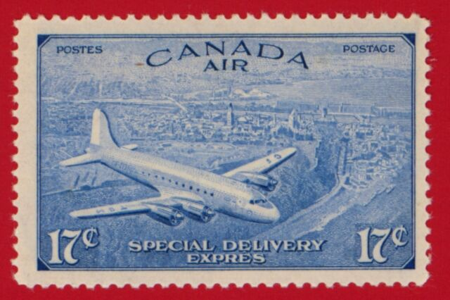 CLEARANCE: Canada (#CE03) 1946 Trans-Atlantic Plane Air Special Delivery stamp