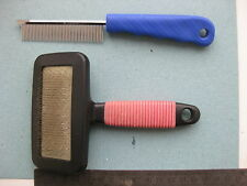 Wool Dog Hand Carder Comb Brush