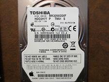 Toshiba MK3255GSXF (HDD2H77 P TW01 S) 010 D2/FH315B Apple#655-1551C 320gb Sata