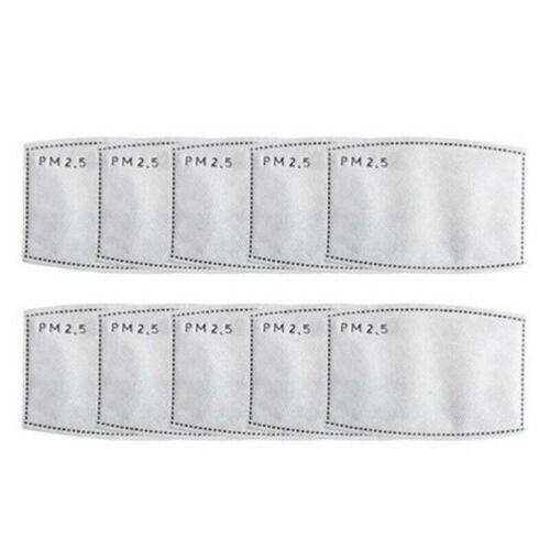 Waschbar Atemschutz Gesichtsmaske Mundschutz Aktivkohlefilter Wiederverwendbar