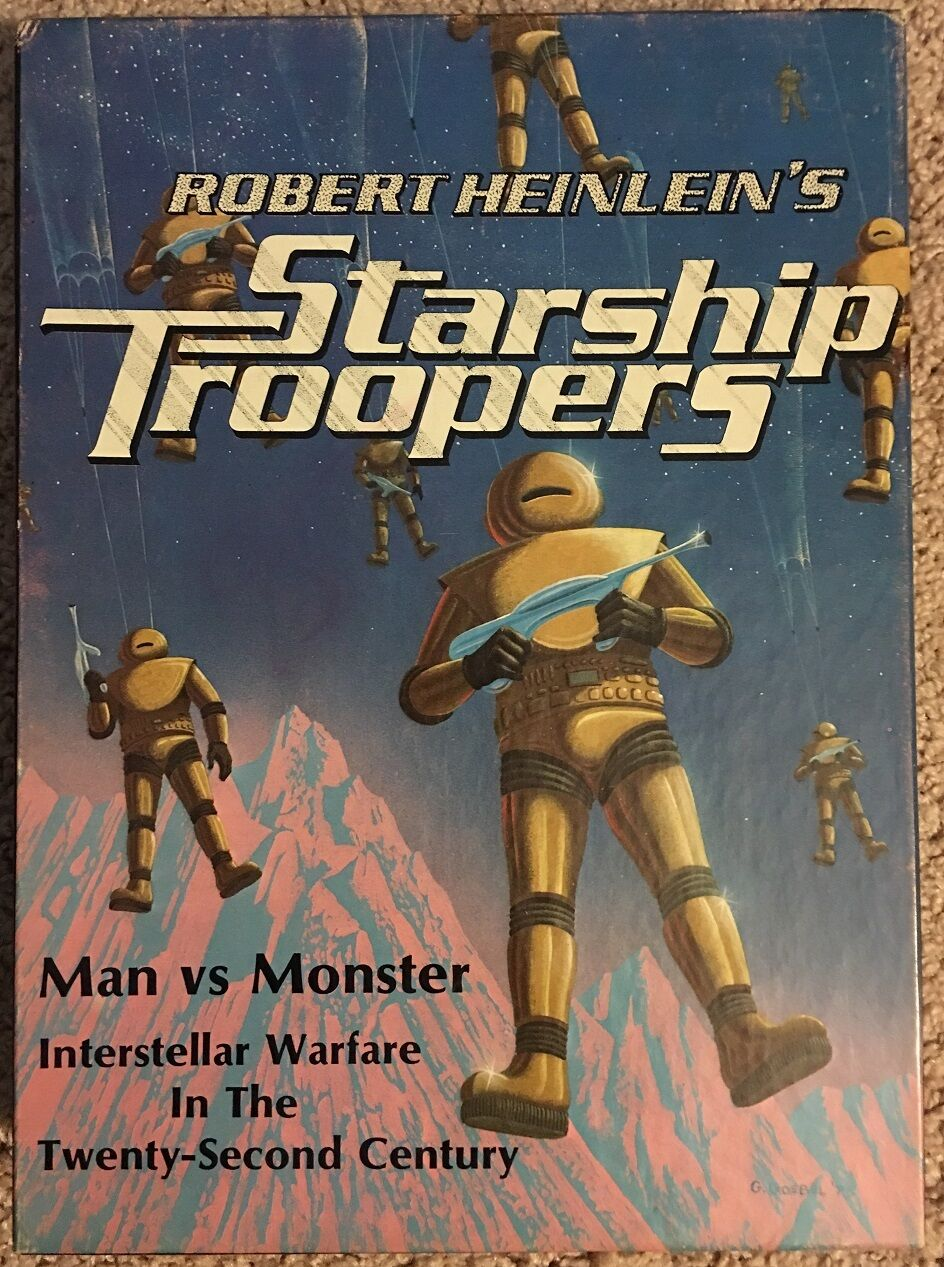 Avalon Hill, 1976 Vintage, Robert Heinlein Starship Troopers, Bibliothèque Game  820