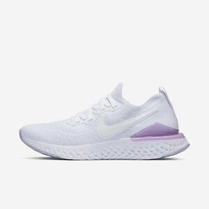 best website 50681 e7094 Image is loading Nike-W-Epic-React-Flyknit-2-BQ8927-101-