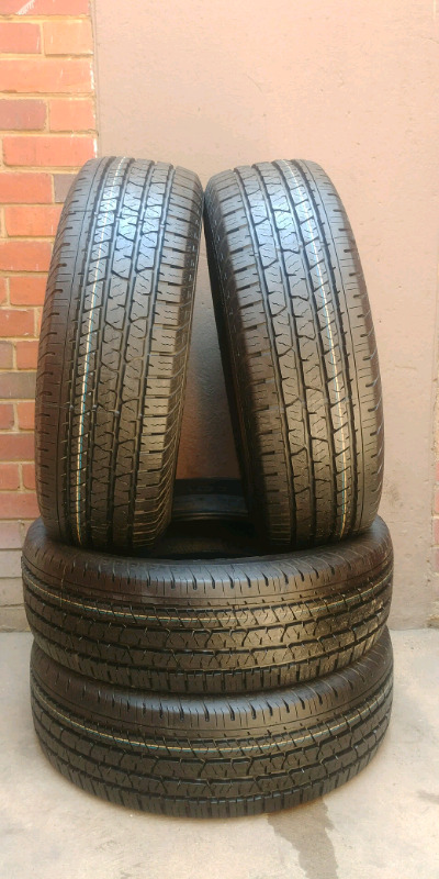 """16""""CONTINENTAL TYRES 255/70R16 NEW X4"""