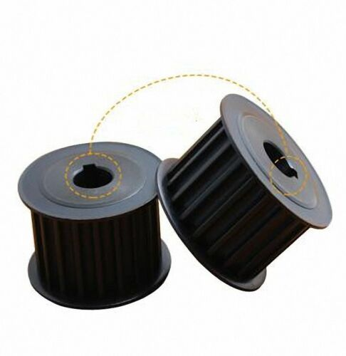 HTD 8M 24 Tooth Timing Belt Pulley 8mm Pitch 32mm or 42mm Wide Select Size