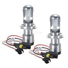 2x 35W Bi-Xenon Hi/Lo Beam HID White Bulb Car Headlight Light Lamp H4 6000K 12V