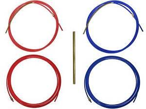 1,2mm  x 5,50 m Drahtspirale Führungsspirale Drahtführung rot  1,0mm