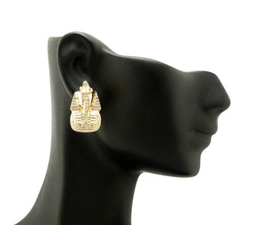 NEW CELEBRITY STYLE PHARAOH KING TUT POST PIERCED FASHION EARRING XE1101