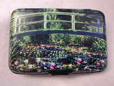i Monet Garden Giverny BUSINESS CARD HOLDER CASE ID credit wallet security armor