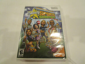 Celebrity Sports Showdown for Wii  Brand New Factory Sealed  Free Ship