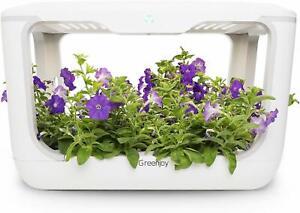 Greenjoy Indoor Herb Garden Kit Hydroponics Growing System Plant Germination Kit
