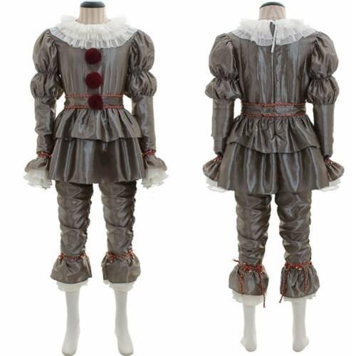 Pennywise Das Clown Festgeleg Outfit Es Stephen King es Party Cosplay Kostüm