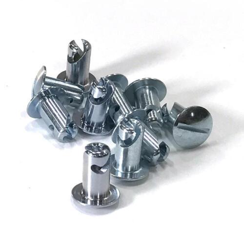 "Renegade Quick Fastener Head 17401; 5//16/"" .450/"" Satin Steel Oval Head"