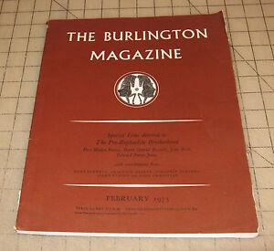 THE-BURLINGTON-MAGAZINE-February-1973-UK-Publication-Good-Condition