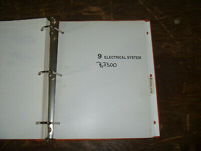 Kubota B7300 Compact Tractor Electrical Wiring Diagram ...