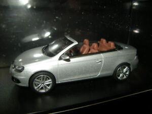 1-43-Kyosho-VW-Eos-Cabrio-silber-silver-OVP