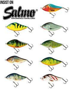 SALMO SLIDER Jerk Bait Sinking 5//7//10 CM Artificial Sinking Trout Pike