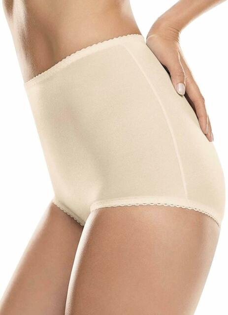 2-Pack Hanes Light Control with Tummy Panel Brief Panties Shapewear M-6XL
