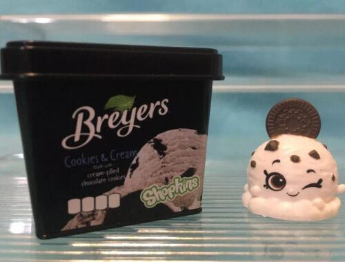 Shopkins Real Littles Season 13 RL2-018 Cookie Cream Shopkin And Packaging