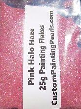 Pink Halo Holo Flake Plasti Dip Urethane Basecoat Clear Coat Primer Lacquer 2K