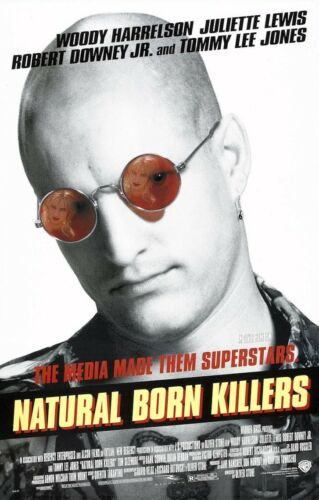 """Movie Collector/'s Poster Print Natural Born Killers 11/"""" x 17/"""" B2G1F"""