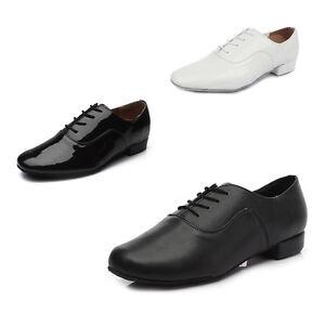 HOT Adult Male Ballroom Tango Dance Shoes Black Shoes Salsa Latin