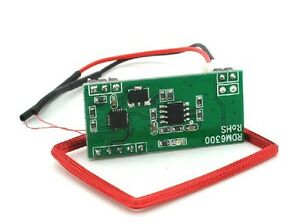 RDM630 125 KHZ EM4100 RFID Card Read Module UART Serial Output for Arduino