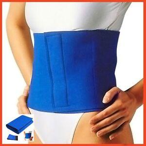 e50504f5cba WAIST SUPPORT Fat Cellulite Belly Burner Slimming Belt Body Exercise ...
