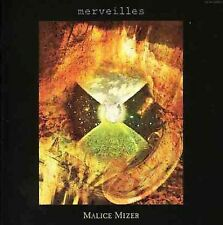 Malice Mizer - Merveilles (CD, + 1998) first press     rare oop
