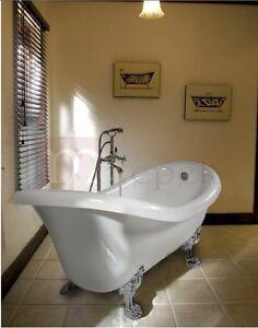 Vasca da bagno in stile inglese centro stanza helene ebay - Vasca da bagno in inglese ...