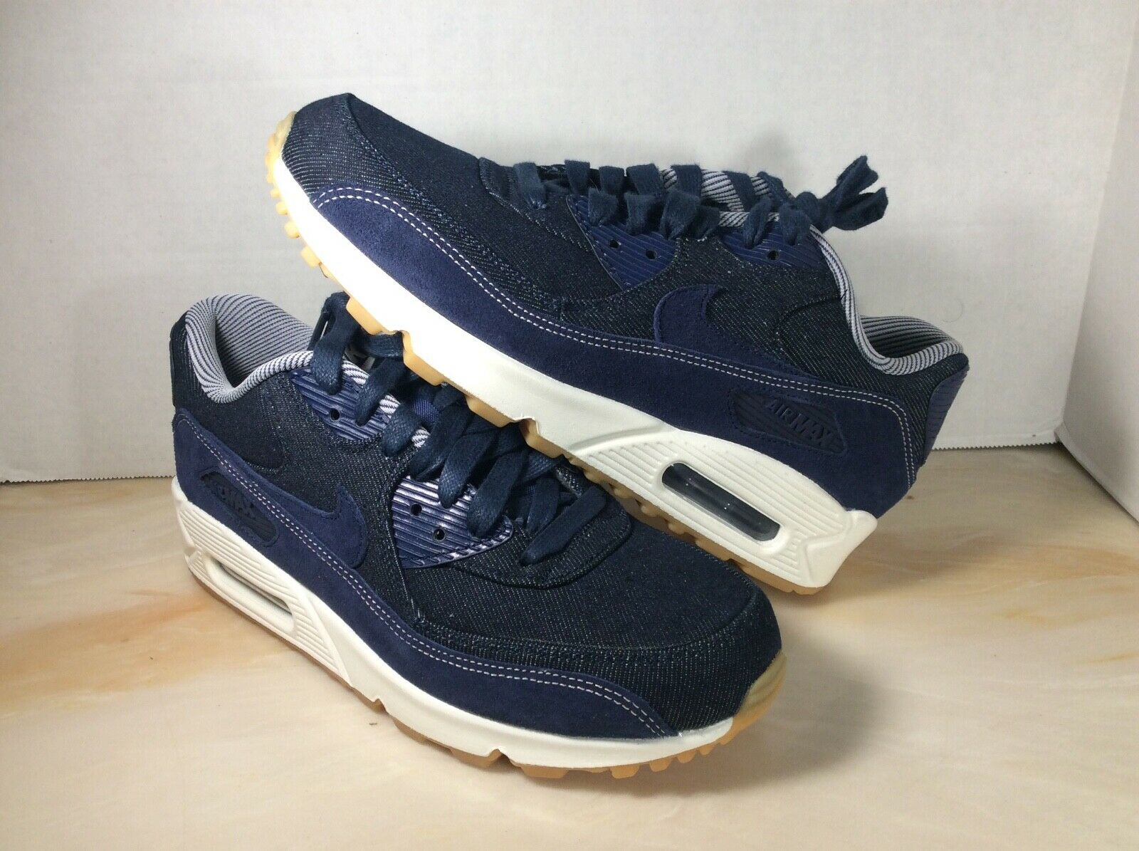 Nike Air Air Air Max 90 SE women's shoes size 7.5 denim bluee 891105-401 e83cb3