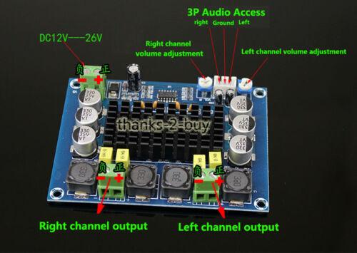 TPA3116 D2 120W+120W Dual Channel Digital Power Audio AMP Amplifier Board
