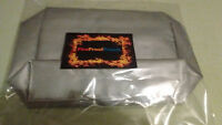 fire Proof Pouch Fire Resistant Document Bag,safe,money, Big 12 X 10x 4