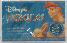 Classic Disney  HERCULES Original Score by Alan Menken (Cassette, May-1997)