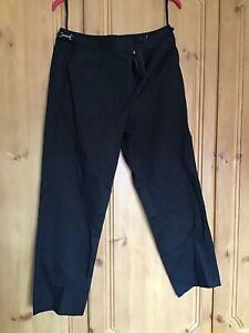 50% price low price best value Details about Jasper Conran Debenhams Work Black Straight Leg Trousers 12  Medium Smart Office