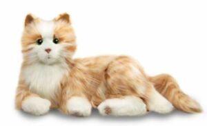 Hasbro Joy For All Orange Tabby Cat - B7592