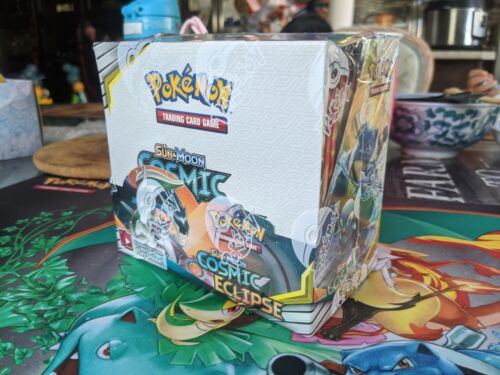Cosmic Eclipse BOOSTER BOX FACTORY SEALED UNTAMPERED SM12 POKEMON CHARIZARD