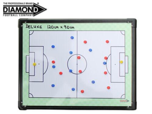 Neu Diamond Football Doppelseitig Tactic Brett - 120x90cm Or 90x60cm Or 60x40cm