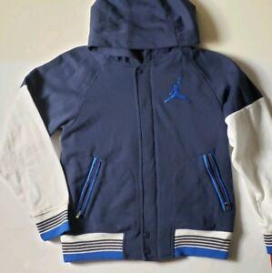 897765d25c01e7 Image is loading Nike-Air-Jordan-Boys-039-Varsity-Jacket-Hoodie-