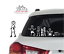 MY-STICK-FIGURE-FAMILY-Car-Window-Vinyl-Decal-StIckers-F18-Pregnant-Female-Mum