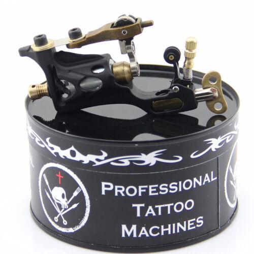 Tattoo Body Art Upgrade Alloy Motor Rotary Tattoo Machine Gun Liner Shader Black