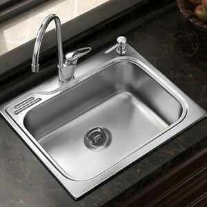 Details about Kitchen Sink Stainless Steel Basket Strainer 70mm Sink Plug  Drainer White Tool
